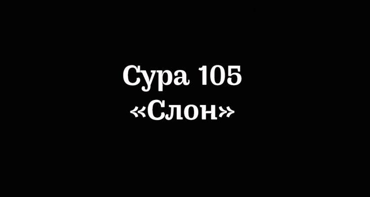 Сура 105
