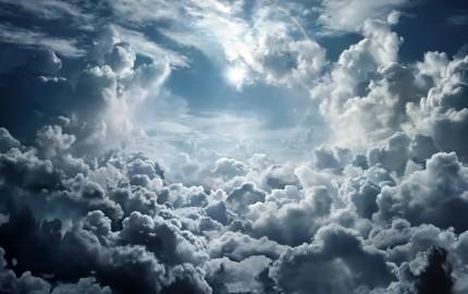 солнце-из-за-облаков