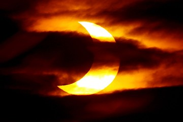 солнечное-затмение