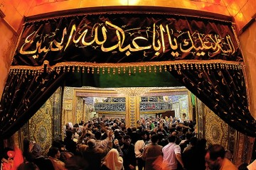 вход-в-гробницу-имама-хусейна-в-кербеле