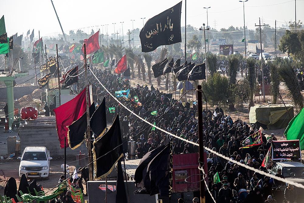 imamhussain.org_لقطات من زيارة الاربعين8083