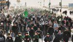 بالفیدیو : مسيرات راجلة من جنوب العراق الى كربلاء